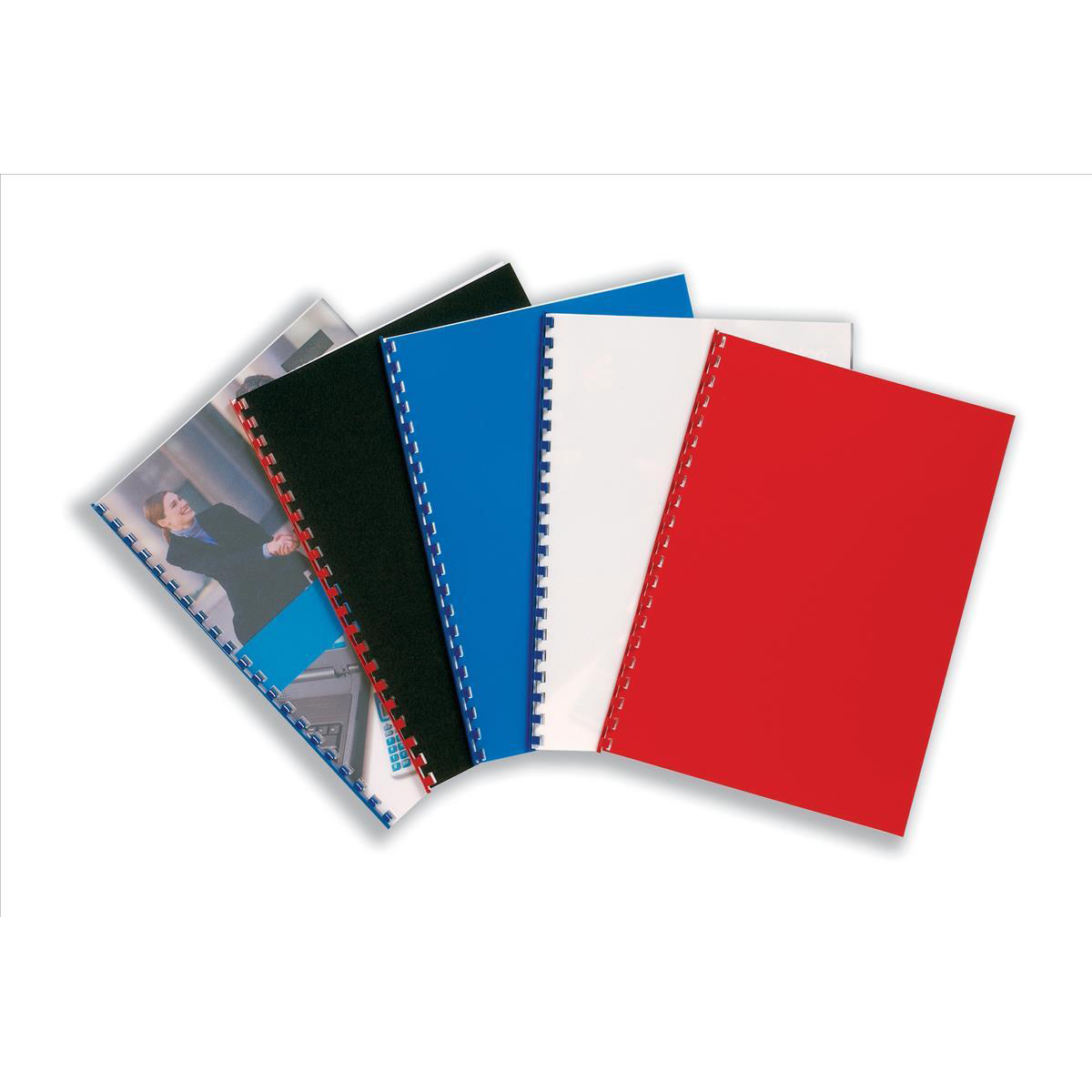 GBC PolyCovers ClearView Binding Covers Polypropylene 300 micron A4 Frosted Ref IB386848 Pack 100