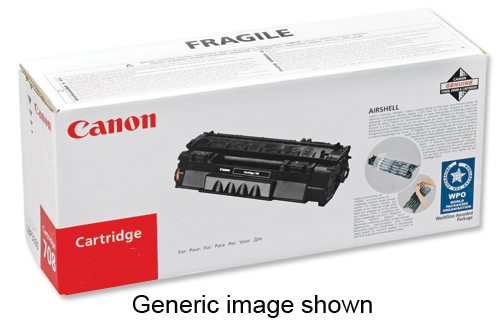 Canon CRG-719 Laser Toner Cartridge Page Life 2100pp Black Ref 3479B002AA