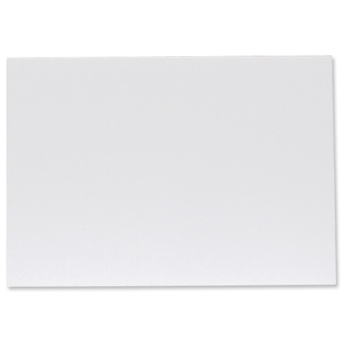 Display Board Lightweight Durable CFC Free W762xD5xH1016mm White [Pack 25]