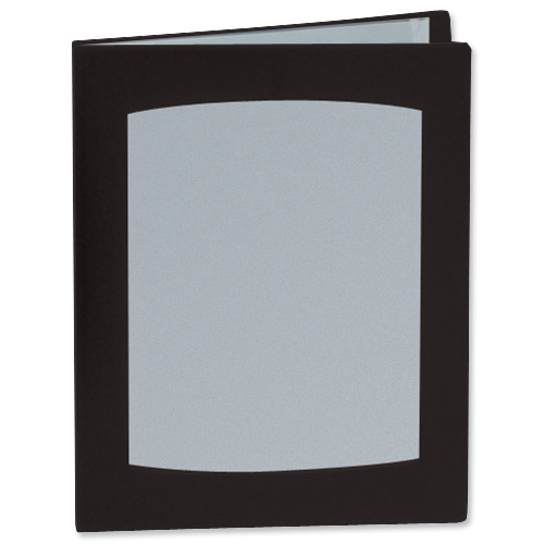 Image for Rexel Clearview Display Book 24 Pockets A3 Black Ref 10405BK