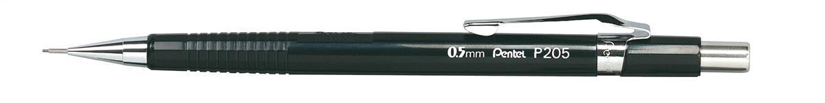 Image for Pentel Automatic Pencil Plastic Steel-lined with 6 x HB 0.5mm Lead Ref P205
