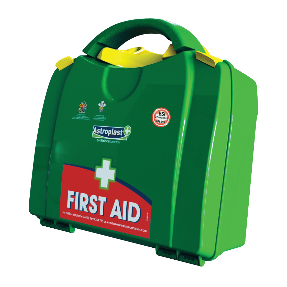 Wallace Cameron BS8599-1 Large Green Box First Aid Kit 1-50 Users Ref 1002657