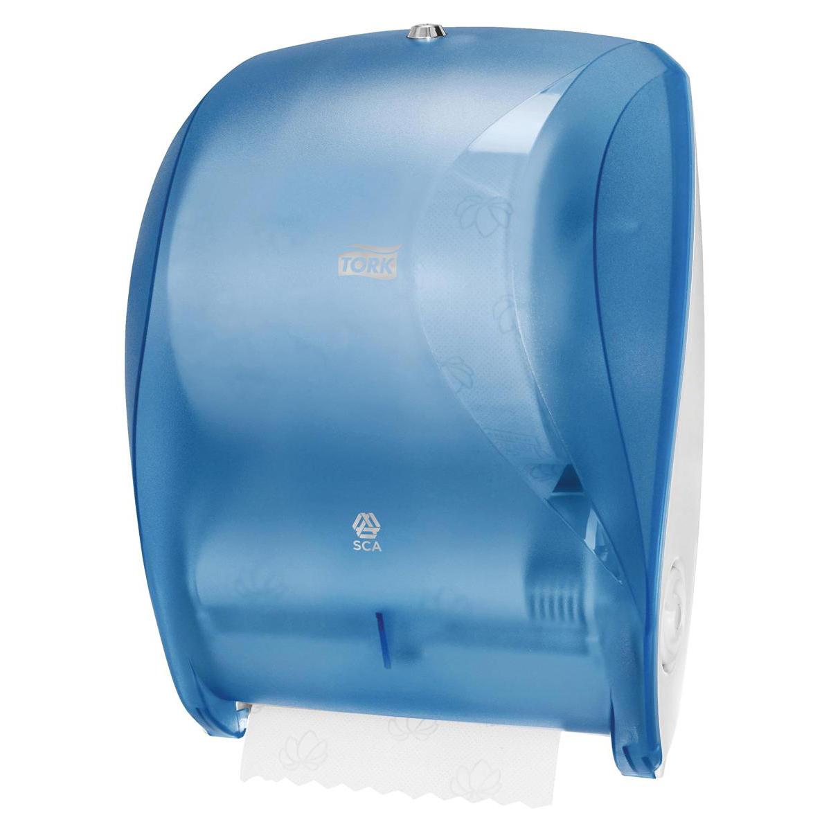 Tork Manual Hand Towel Roll Dispenser W425xD303x220mm Plastic Blue Ref 471050