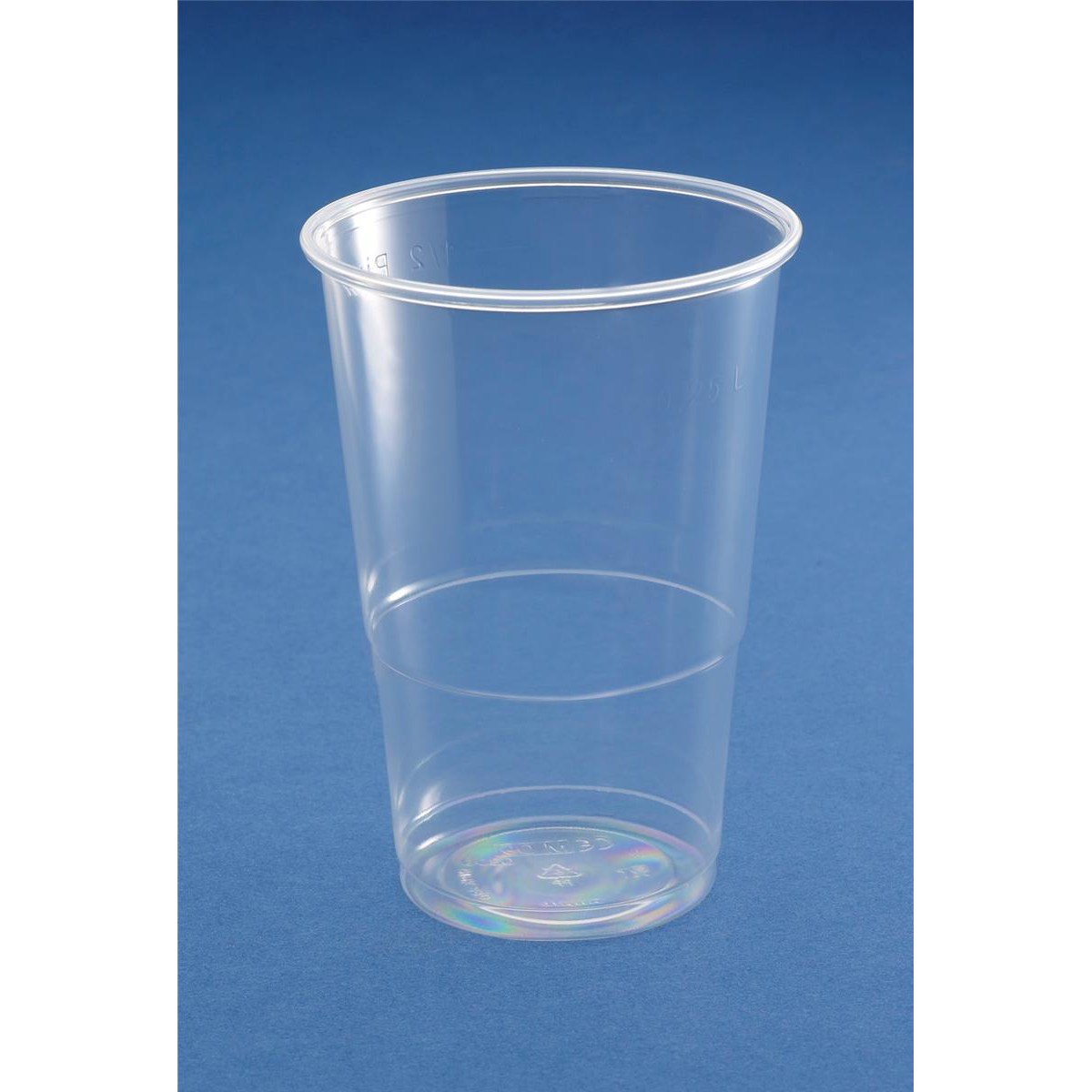 Half Pint Tumbler CE Marked Polypropylene 9.6oz 284ml Clear Ref 30010 Pack 50