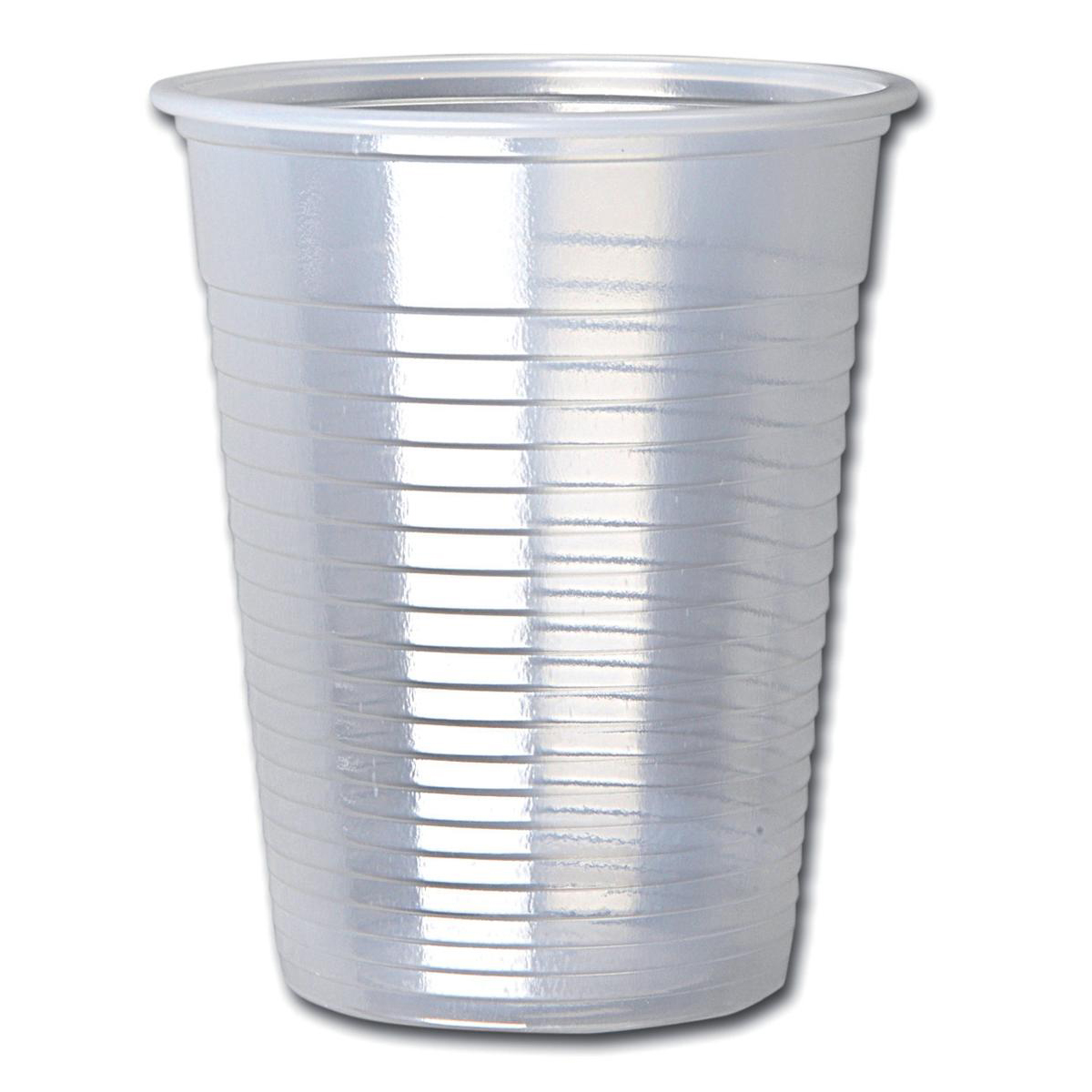 Disposable Cups & Accessories Cup for Water Cold Drinks Plastic Non Vending Machine 7oz 207ml Clear Ref 30009 Pack 100