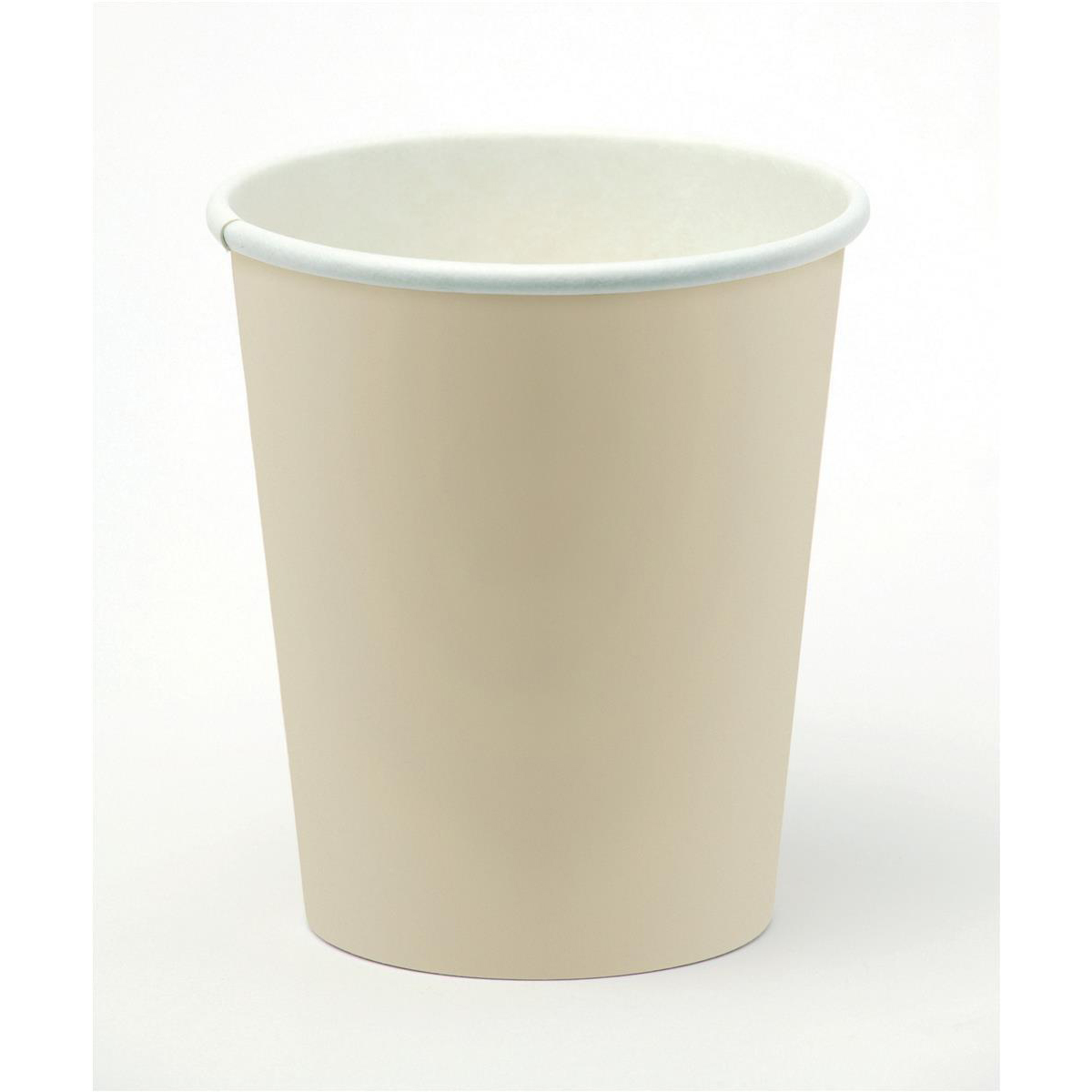 Drinks Stirrers & Straws Paper Cup for Hot Drinks 8oz 236ml Varied Design Ref 01156 Pack 50