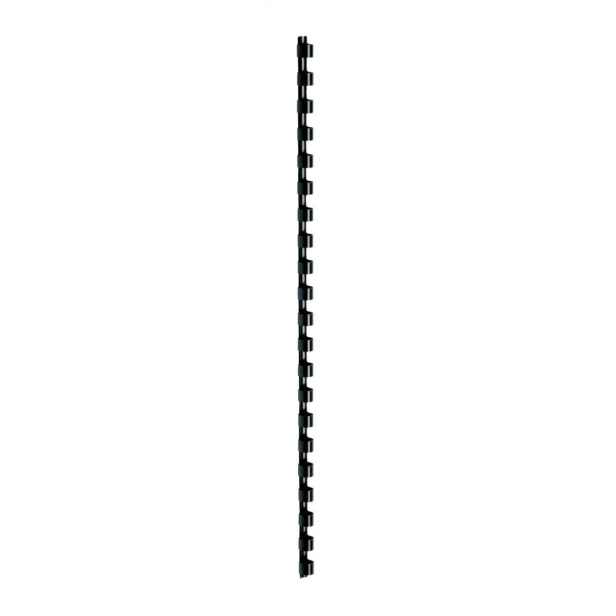 Binding Combs 5 Star Office Binding Combs Plastic 21 Ring 65 Sheets A4 10mm Black Pack 100