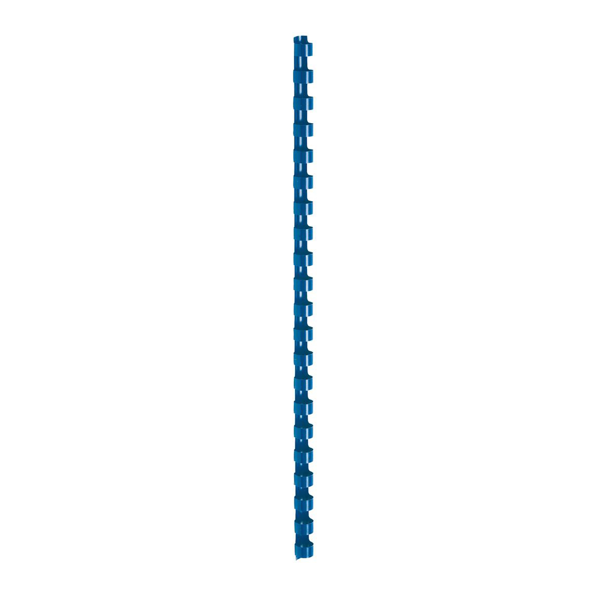 5 Star Office Binding Combs Plastic 21 Ring 65 Sheets A4 10mm Blue Pack 100