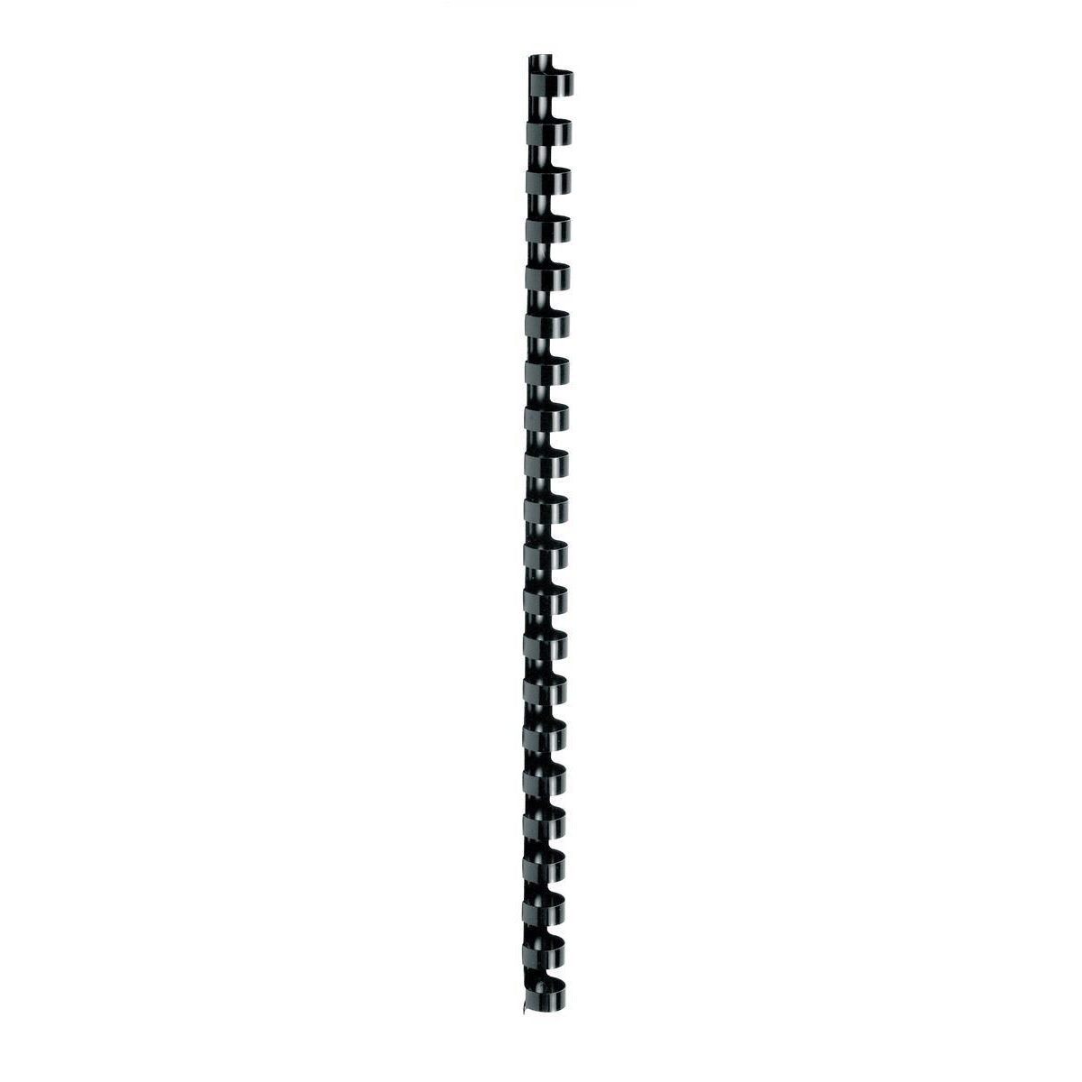 Binding Combs 5 Star Office Binding Combs Plastic 21 Ring 95 Sheets A4 12mm Black Pack 100