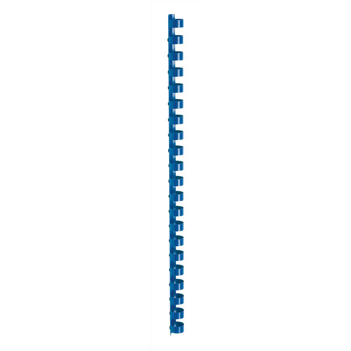 5 Star Office Binding Combs Plastic 21 Ring 95 Sheets A4 12mm Blue Pack 100