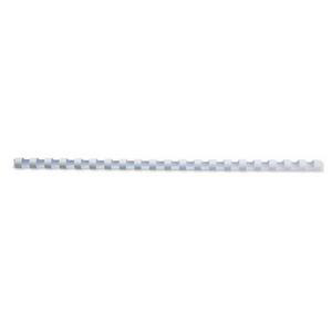 GBC Binding Combs Plastic 21 Ring 95 Sheets A4 12mm White Ref 4028197 Pack 100