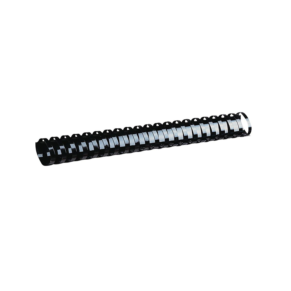 GBC Binding Combs Plastic 21 Ring 225 Sheets A4 25mm Black Ref 4028182 Pack 50