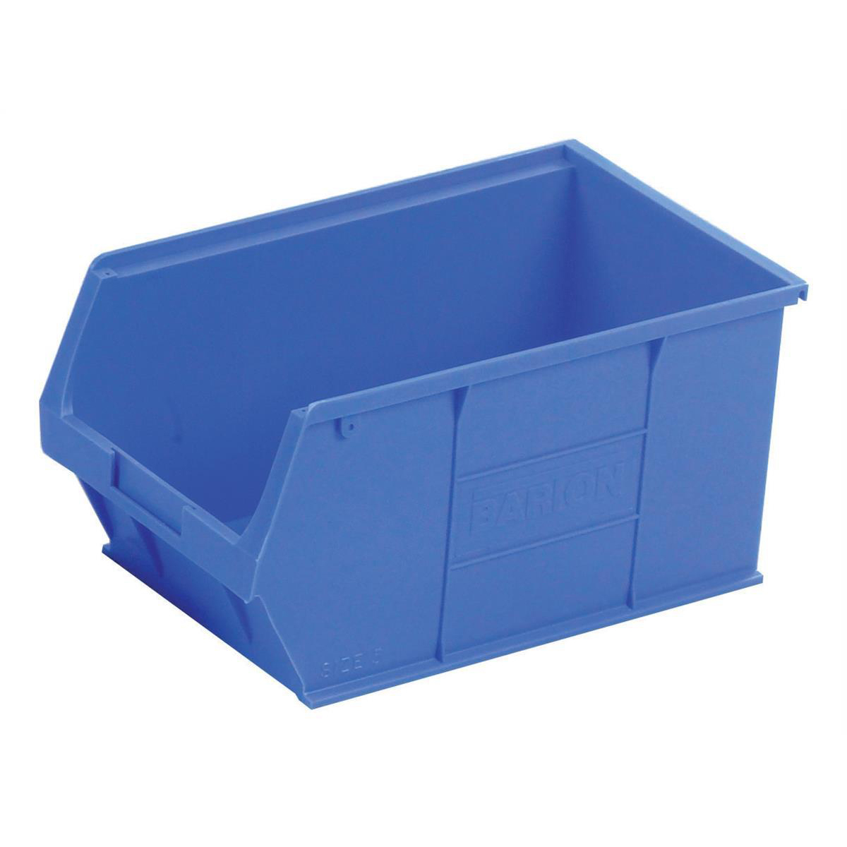 Container Bin Heavy Duty Polypropylene W350xD205xH182mm Blue Pack 10