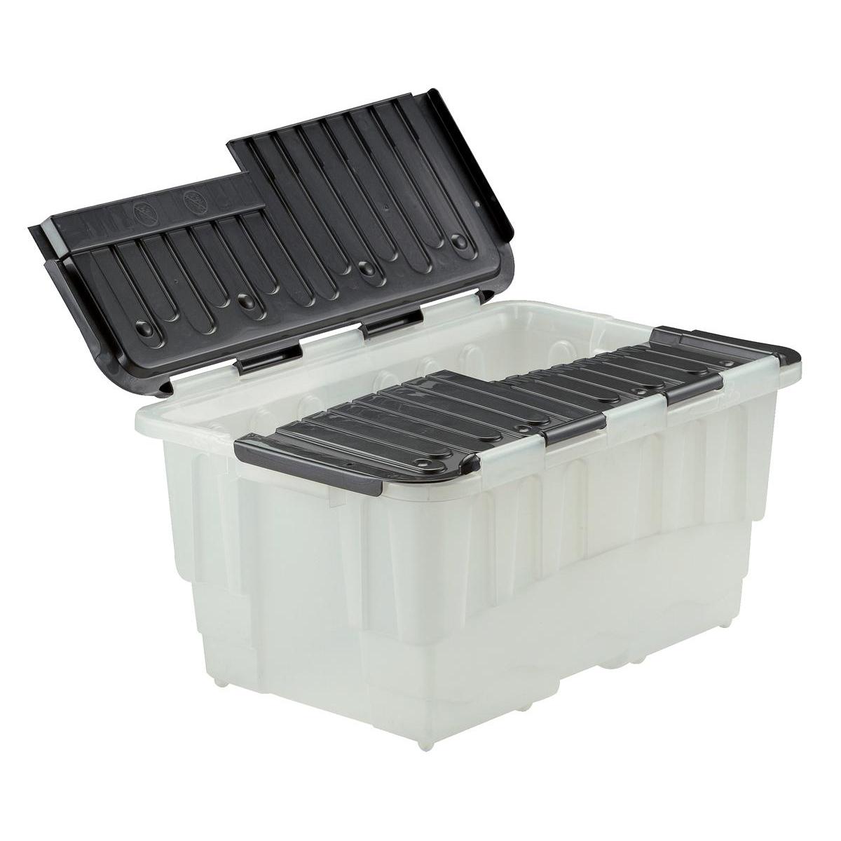 Strata Storage Box Duracrate Crate Plastic 40 Litre W570xH390xH290mm Black Ref HW390BLK Pack 5