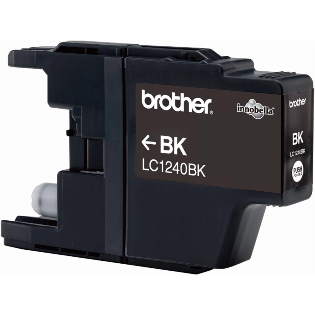 Brother Inkjet Cartridge Page Life 600pp Black Ref LC1240BK