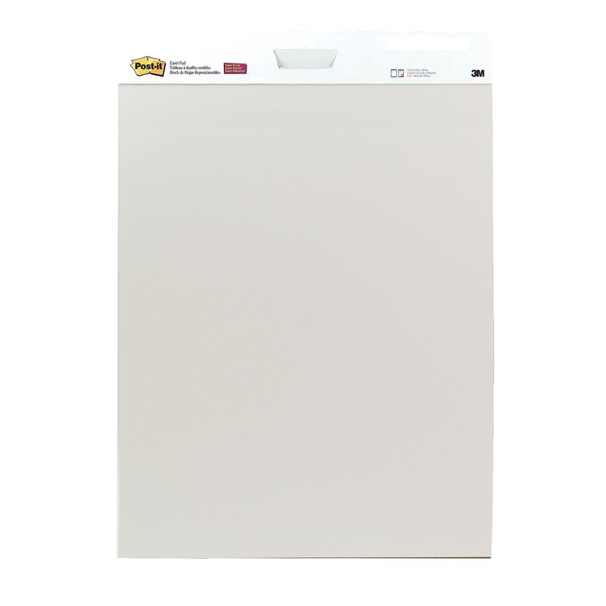 Pads Post-it Easel Pad Self-adhesive 30 Sheets 762x635mm Ref FT510105826 4x Free Note Pads Pack 2