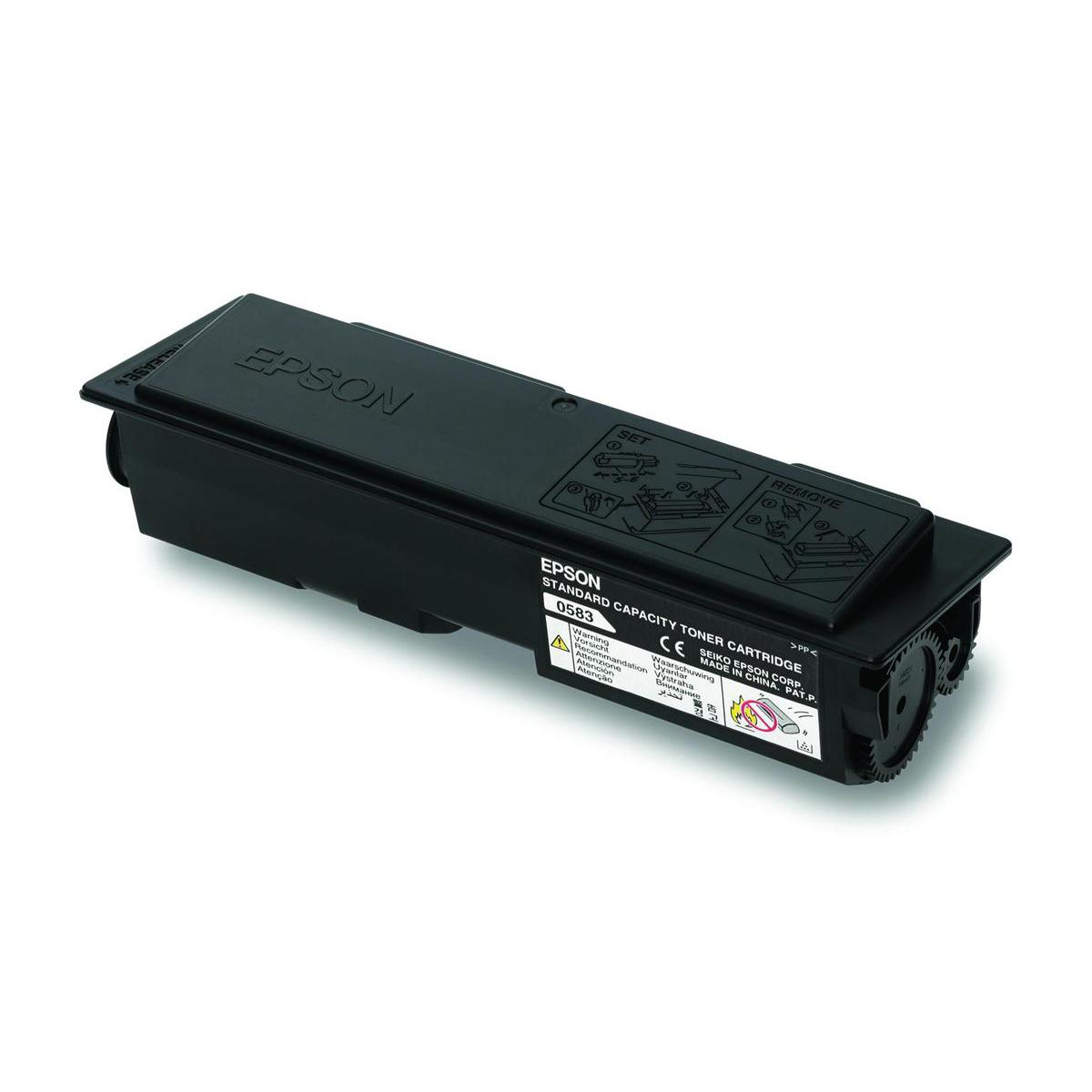 Laser Toner Cartridges Epson S050585 Laser Toner Cartridge Return Programme Page Life 3000pp Black Ref C13S050585