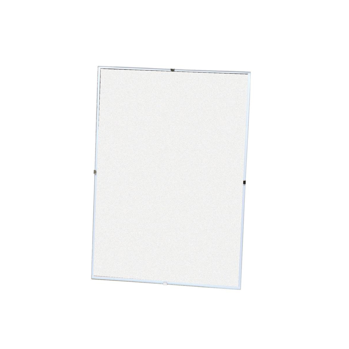5 Star Office Clip Frame Plastic Front for Wall-mounting Back-loading A4 231x17x326mm Clear
