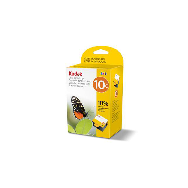 Kodak 10C Inkjet Cartridge Page Life 420pp 12ml Tri-Colour Ref 3949930