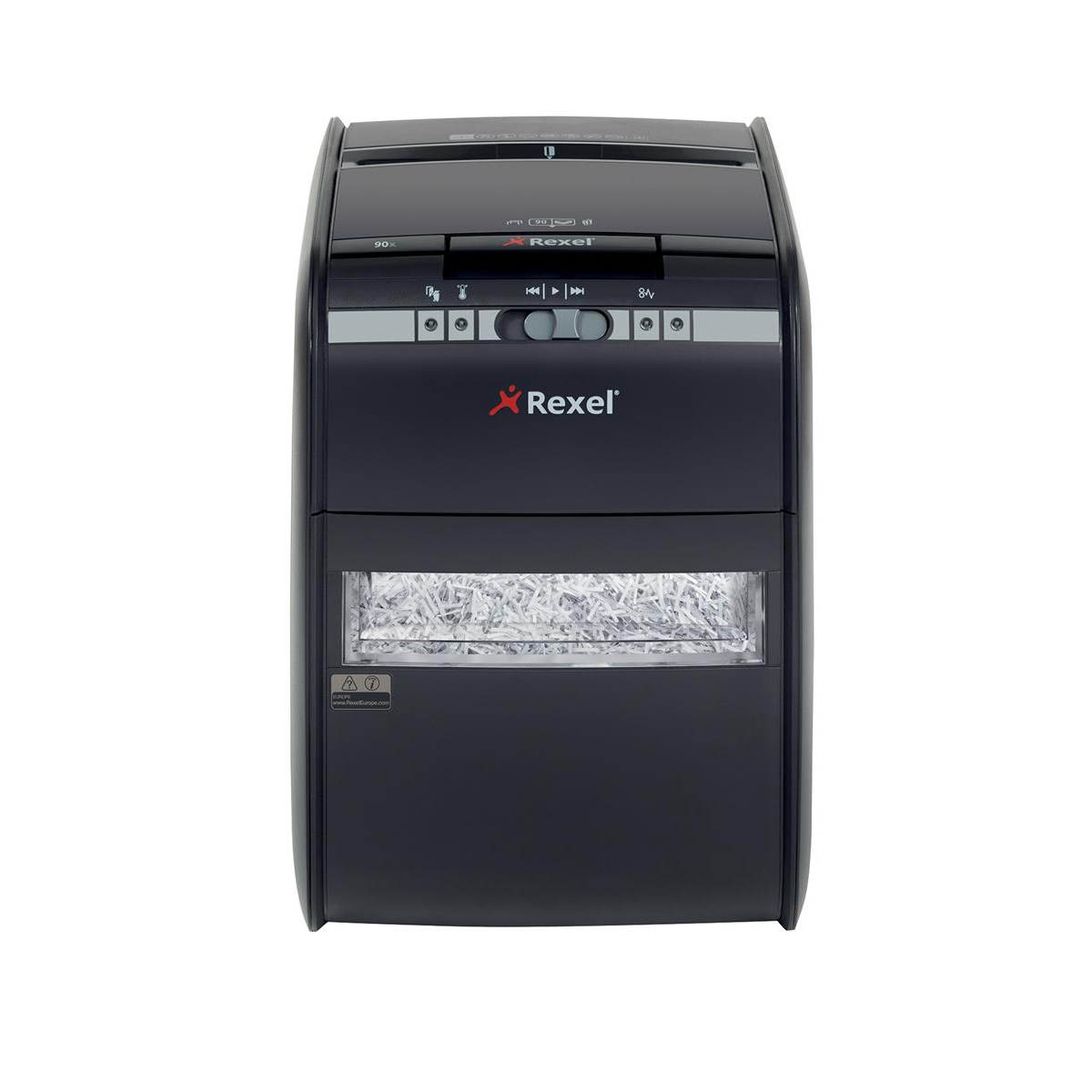 Shredders Rexel AutoPlus 90X Shredder Cross Cut P-3 Ref 2103080A
