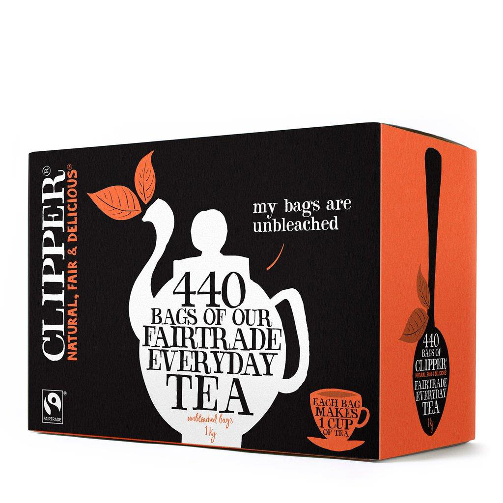 Clipper Fairtrade Tea Bags Ref A06816 Pack 440