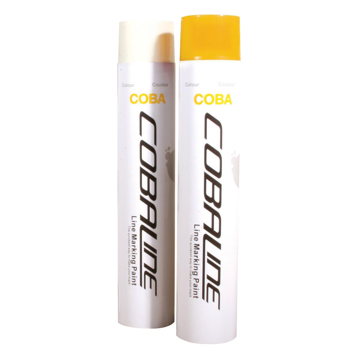 Cobaline Marking Spray CFC-free Fast-dry 750ml Yellow Ref QLL00007P Pack 6
