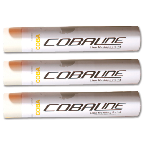 Cobaline Marking Spray CFC-free Fast-dry 750ml White Ref QLL00013P Pack 6