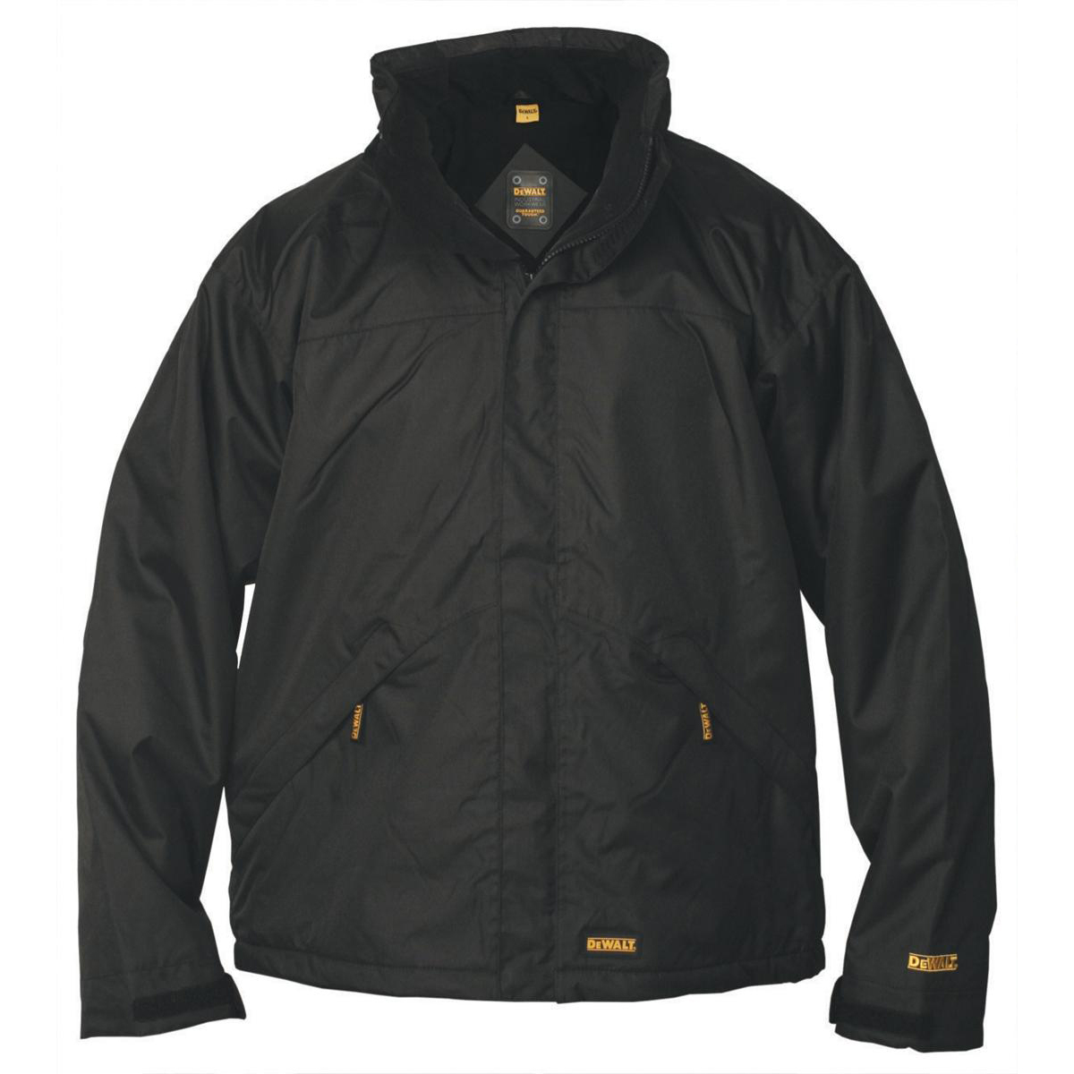 Image for Dewalt Waterproof Jacket Microfleece Lined Internal Phone and Document Pockets X-Large Ref Site jacket XL