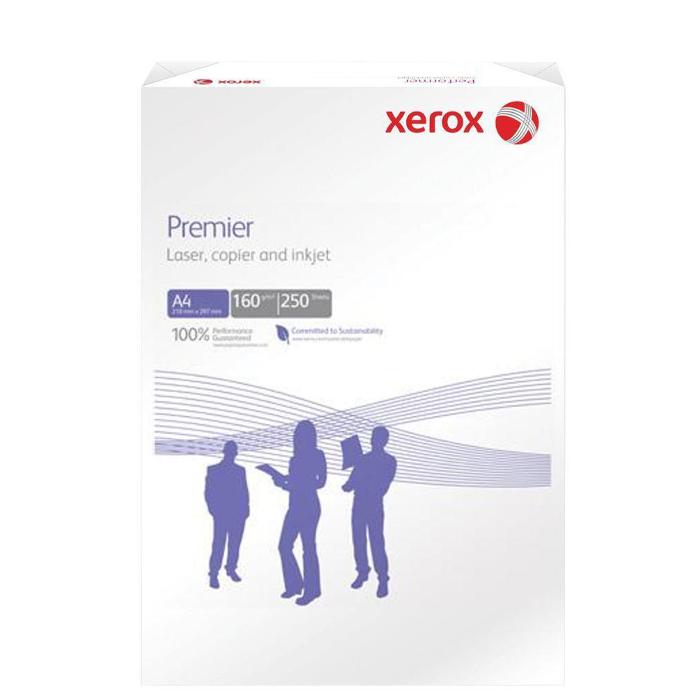 Card (160g+) Xerox Premier Card 160gsm A4 White Ref 62326 250 Sheets