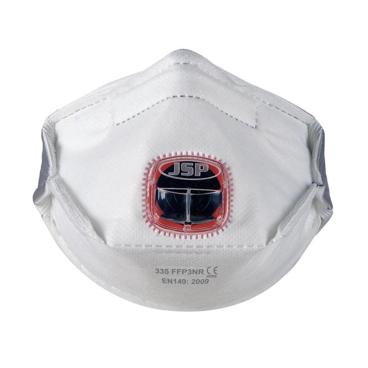 Typhoon 335 Mask FFP3 Fold-flat Typhoon-valve System Adjustable Strap Ref BEY130-201-AG1 Pack 10