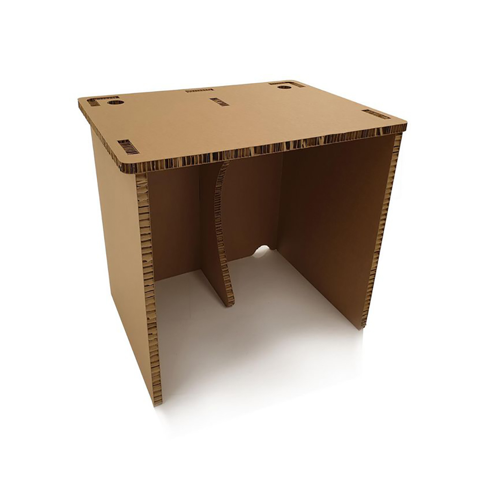 Desks 5 Star Office Eco Friendly Cardboard Easy Build Home Office Desk 800x600x730mm ECO00001