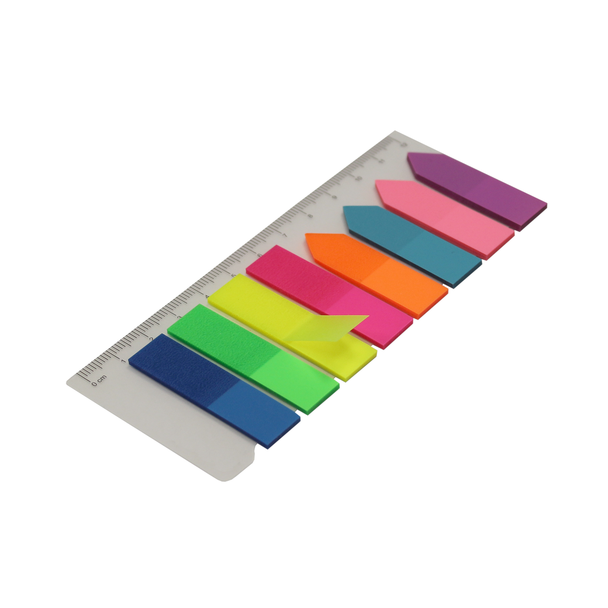 5 Star Re-move Index Arrows & Flags 42x12mm & 45x12mm 25 Sheets 8 Assorted Colours [Pack 5]