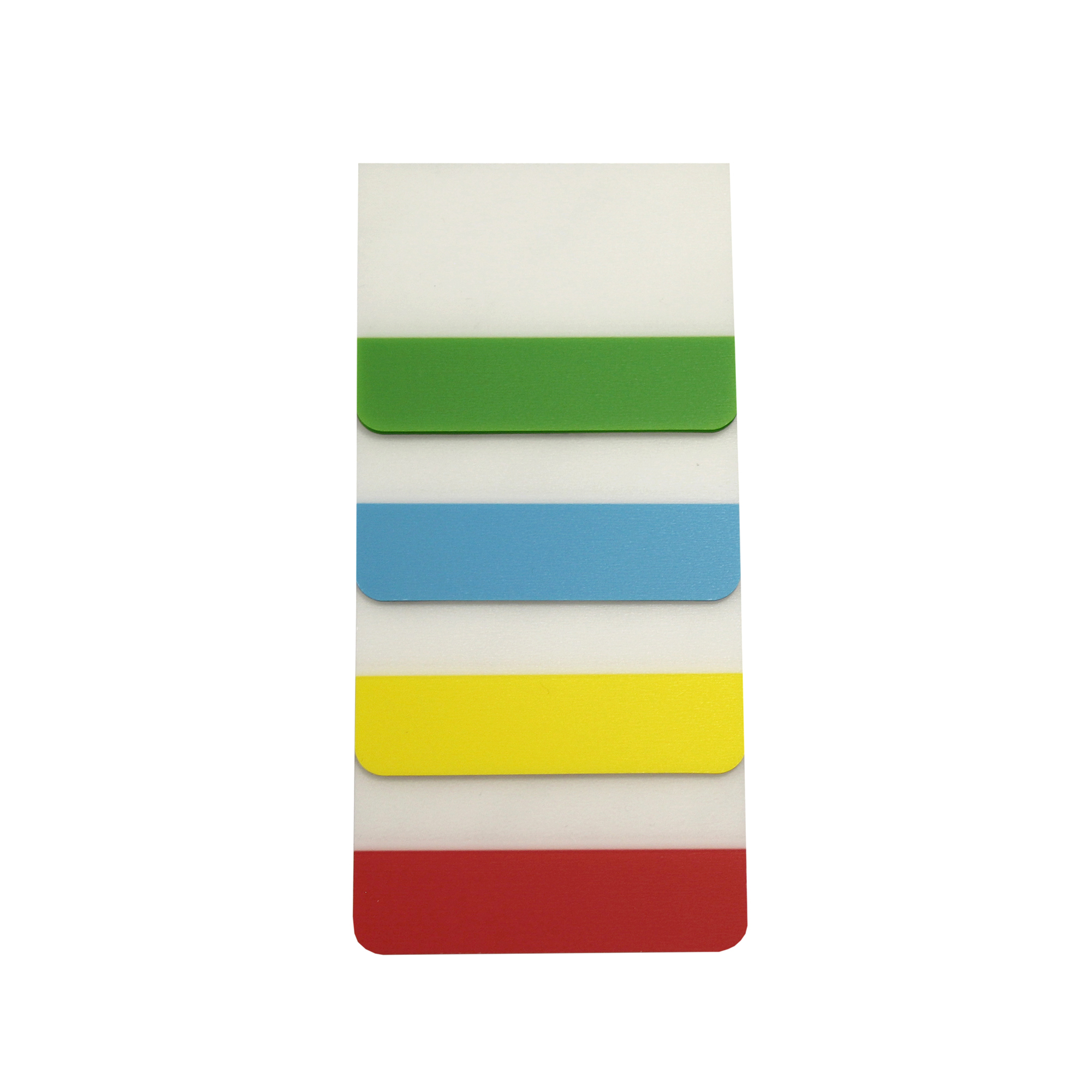 Tab indexes 5 Star Filing Tabs 4 Neon Assorted Colours Red Yellow Blue & Green 38x51mm Pack 5