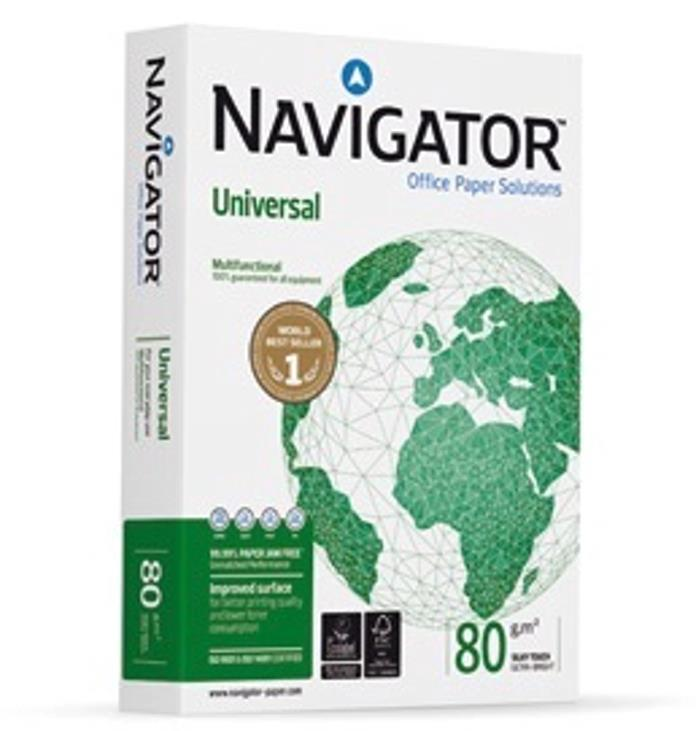 Image for Navigator Paper Universal A4 80gsm Ref 362003-550 [5 x 550 sheets] [Price Offer]