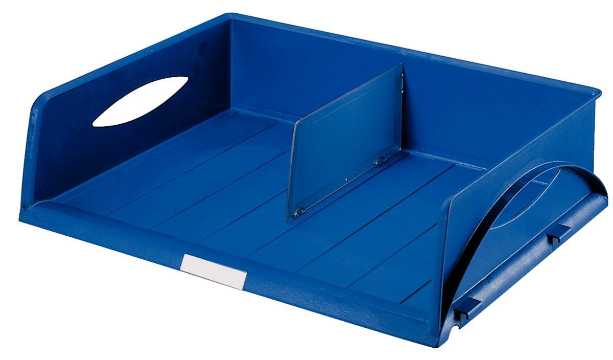 Image for Leitz Jumbo Letter Tray Blue Ref 5232-00-35