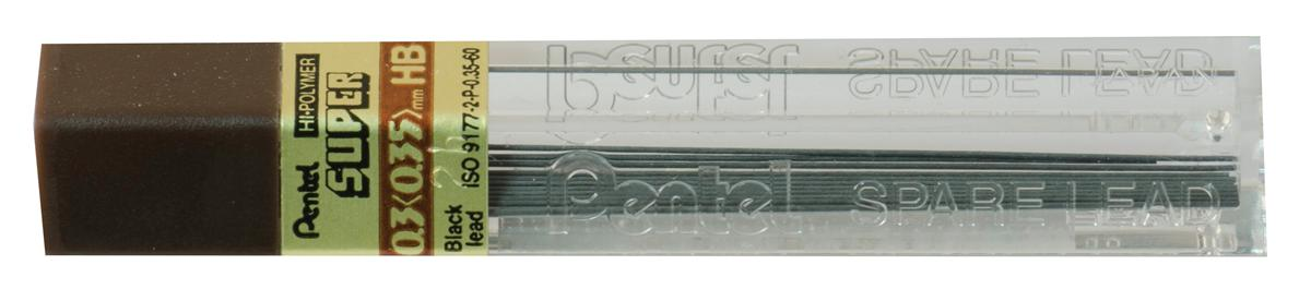 Image for Refill Lead Extra-strong Hi-polymer in Tube of 12 x HB 0.3mm [12 Tubes]