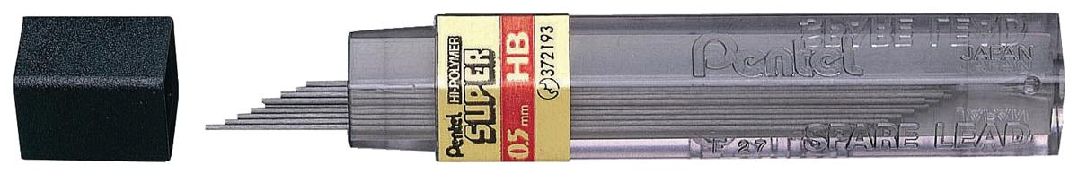 Image for Refill Lead Extra-strong Hi-polymer in Tube of 12 x HB 0.5mm [12 Tubes]