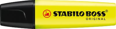 Stabilo Boss Highlighters Chisel Tip 2-5mm Line Yellow Ref 70/24/10 [Pack 10]