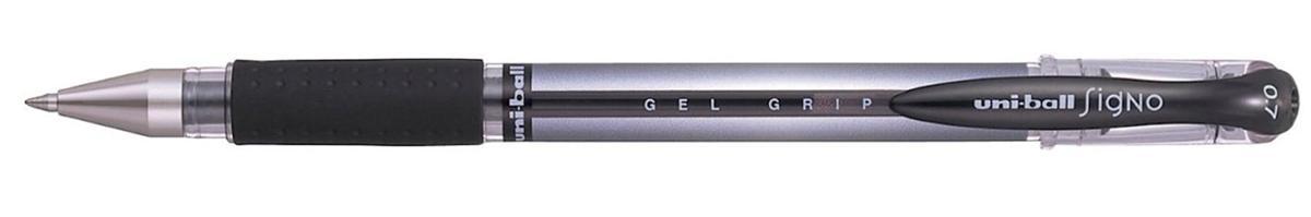 Uni-ball UM151S SigNo Gel Rollerball Comfort Grip 0.7mm Tip 0.5mm Line Black Ref 751081000 [Pack 12]