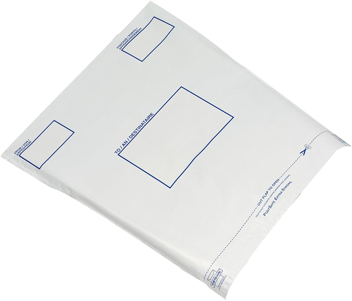 Keepsafe Envelope Extra Strong Polythene Opaque DX W440xH320mm Peel & Seal Ref KSV-MO3 [Box 100]