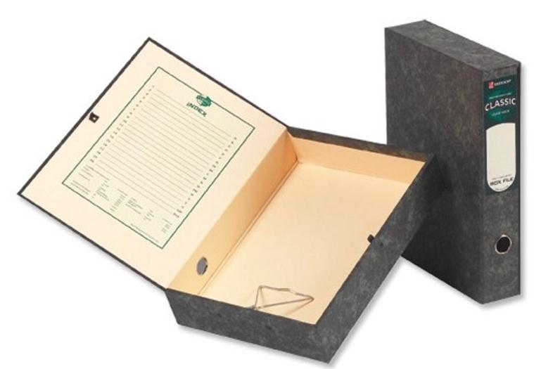 Image for Rexel Classic Box File with Lock Spring Foolscap Plain Ref 30115EAST [Pack 5]