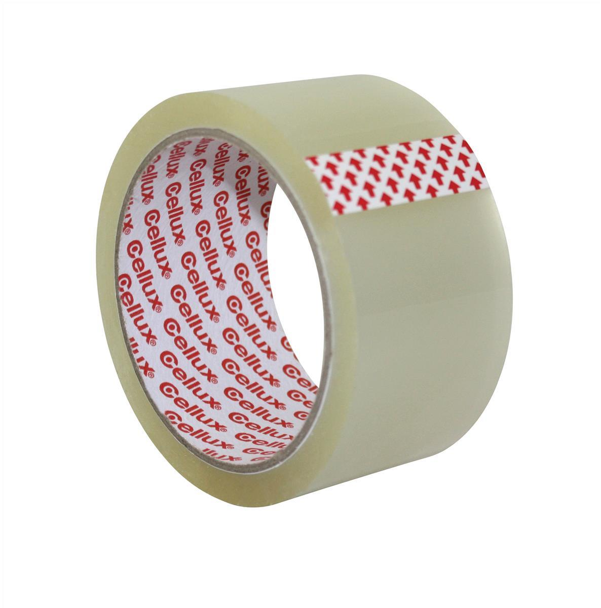 Image for Sellotape Cellux Tape Economy General Purpose 48mmx50m Clear Ref 0857 [Pack 6]
