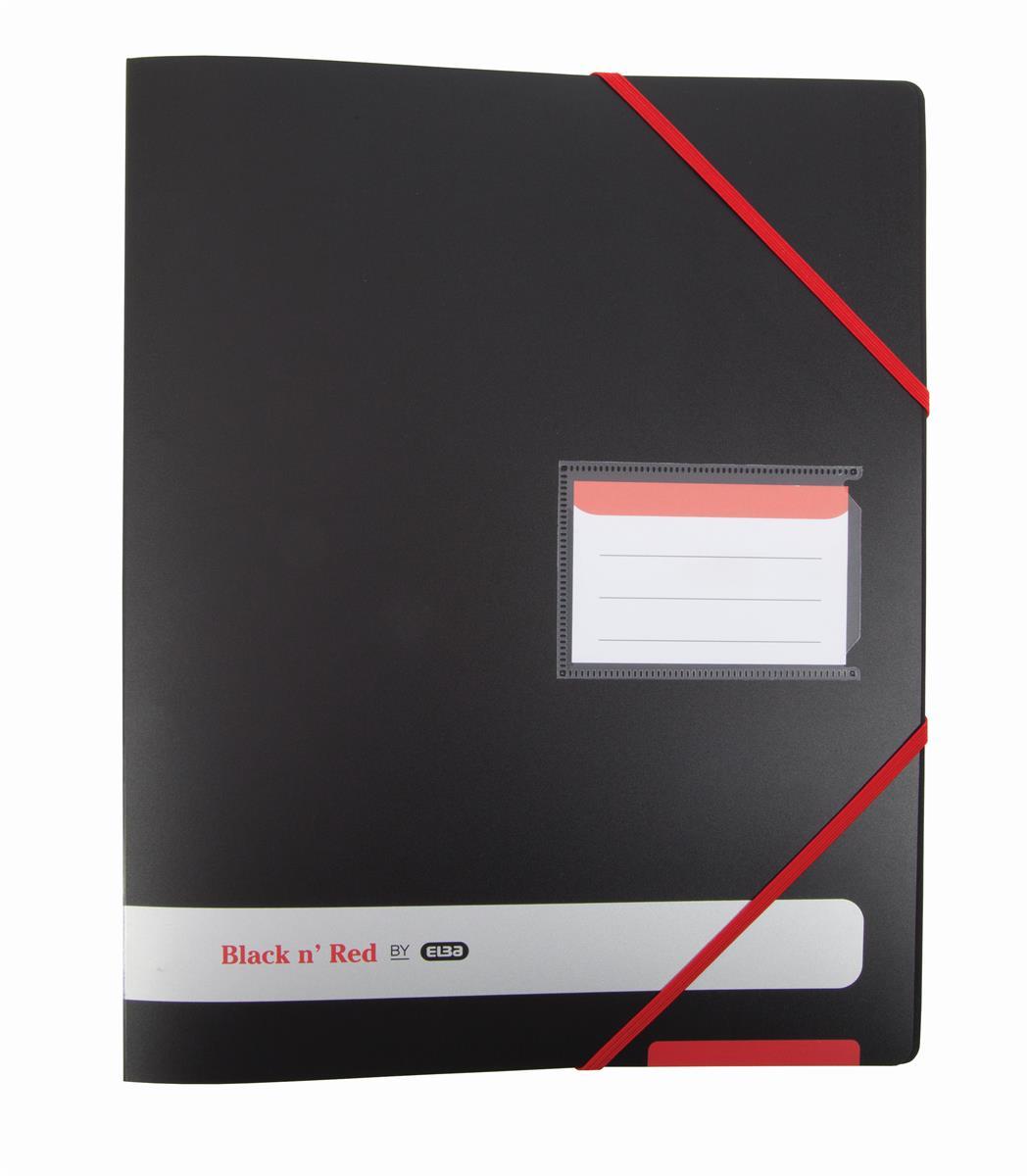 Black N Red Polypropylene Ring Binder Ref 400078863 [2 For 1] Jan-Dec 2018