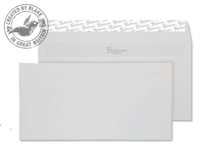 Blake Premium Envelope Wallet P&S Smooth Diamond White DL Ref 36882 [Pack 500] [Free Paper] Jan-Mar 2018