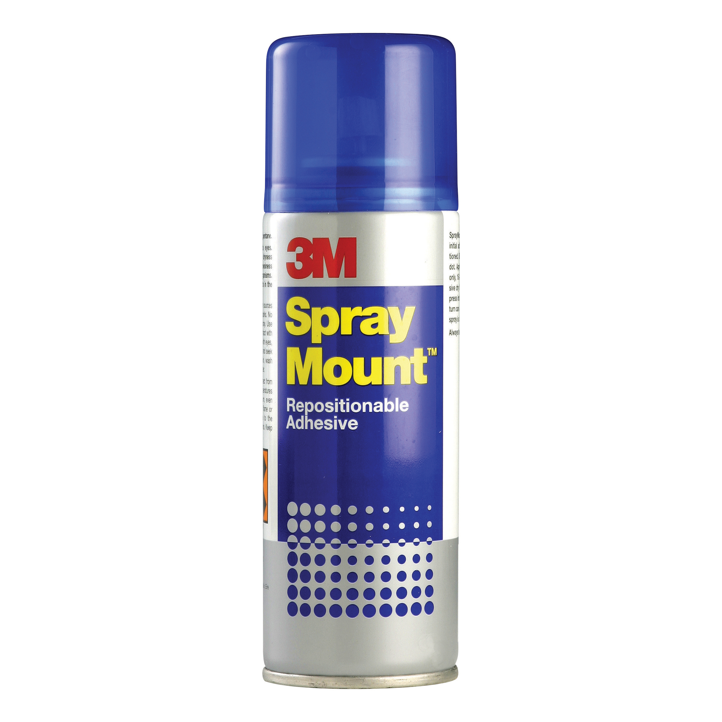Image for 3M SprayMount Adhesive Spray Can CFC-Free Non-staining 400ml Ref SMOUNT