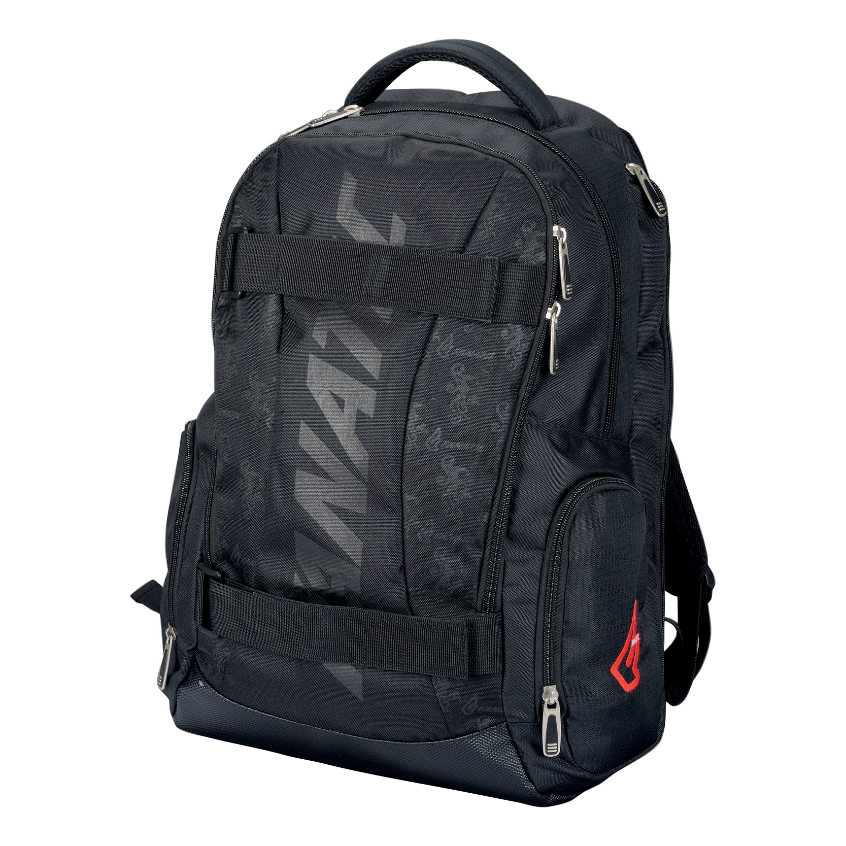 Bags & Cases Lightpak Hawk Laptop Backpack Padded Polyester Capacity 14in Black Ref 24603