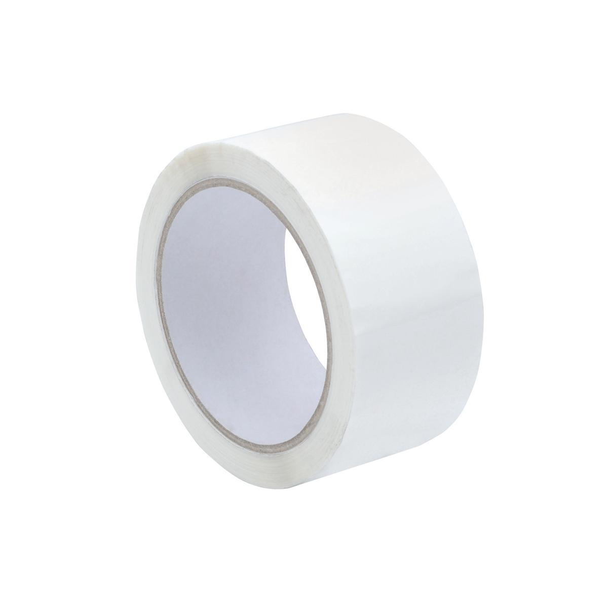 Image for Tape Polypropylene 50mmx66m White [Pack 6]