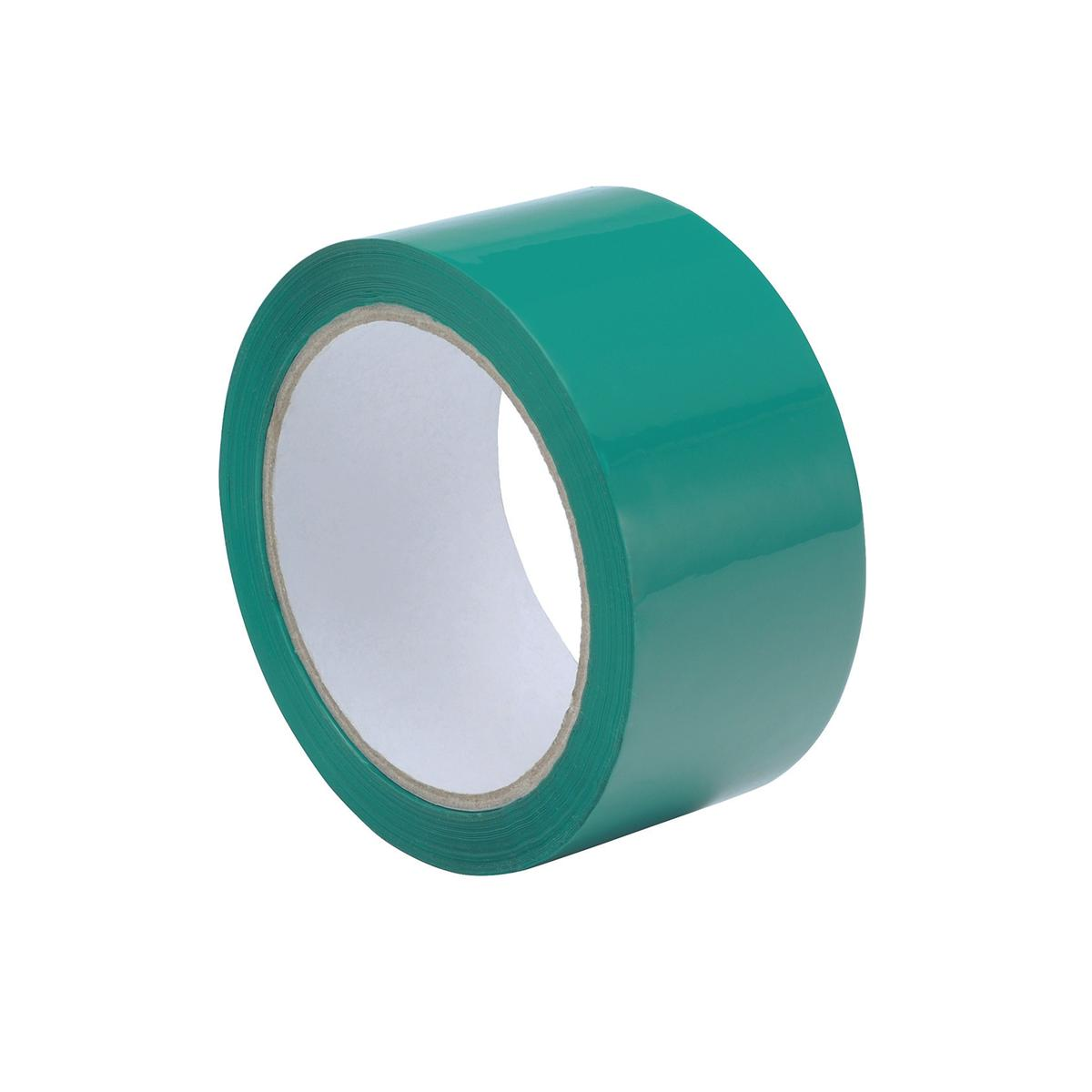 Image for Polypropylene Tape 50mmx66m Green Ref GCP50 [Pack 6]