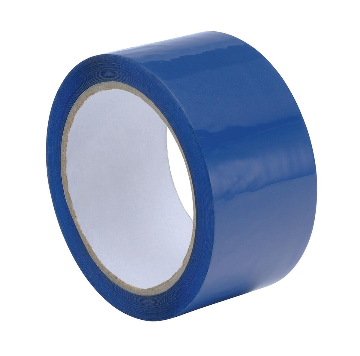 Image for Polypropylene Tape 50mmx66m Blue Ref BLCP50 [Pack 6]