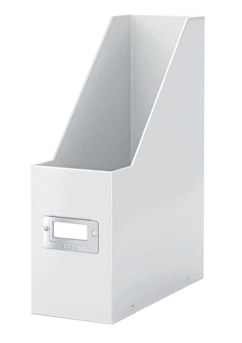 Leitz WOW Click and Store Magazine File White Ref 60470001